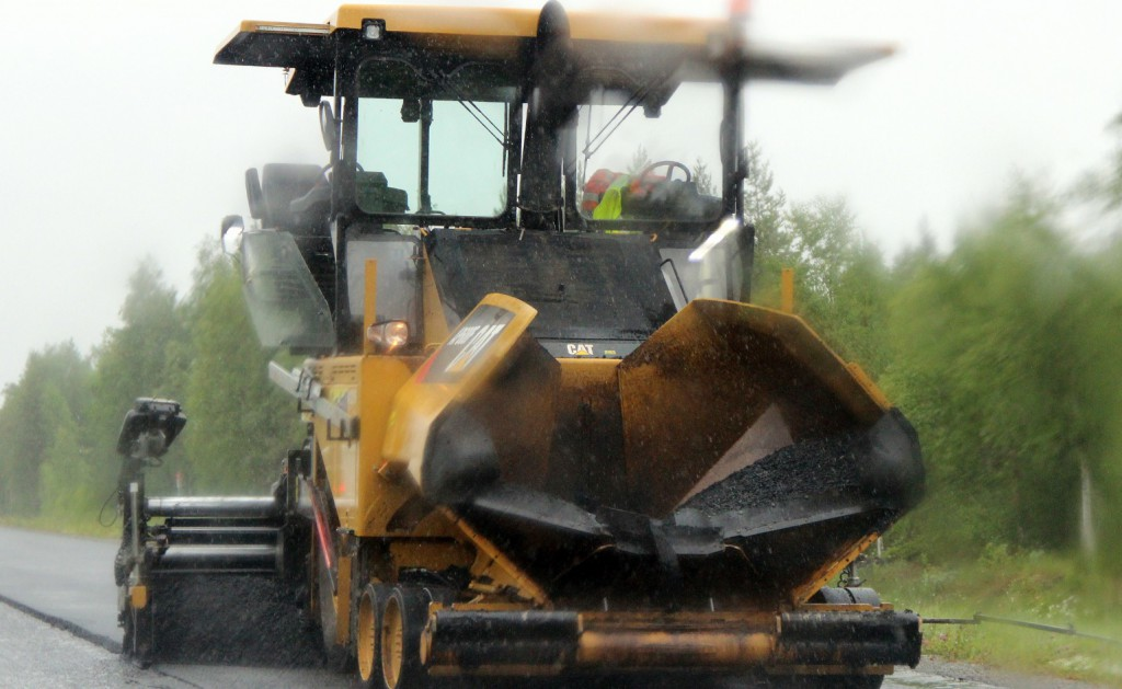 asfaltläggare